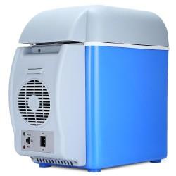 12 V 75L Mini refrigerador de coche porttil congelador multifuncin de doble uso refrigerador cale
