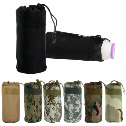 Tactical military water bottle bag