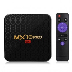 MX10 Pro Allwinner H6 4GB RAM 32GB ROM 2.4G WIFI - Android 9 - 6K - 4K - TV Box