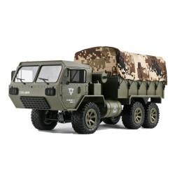 FY004A 1/16 2.4G samochód RC 6WD - sterowanie proporcjonalne - USA ciężarówka wojskowa z 2 bateriami - model RTR