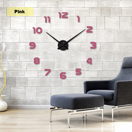 2019 Gratis Verzending Nieuwe Klok Horloge Wandklokken Horloge 3d Diy Acryl Spiegel Stickers Home De
