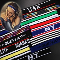 Fashion headband with print - unisex