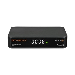 GTMEDIA GTT2 DVB-T2 DVB-C ISDB-T - satellite receiver cable - Android 6 - 2GB RAM 8GB ROM - 4K H.265 - TV Box