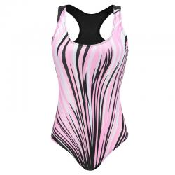 Women sport one piece racer swimsuit plus size XXXL