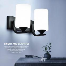 E27 Base LED lampara de pared sìngula y doble