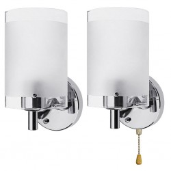 AC85-265V E27 Applique Da Parete A Led Moderna di Vetro Decorativo di Illuminazione del Riparo Della