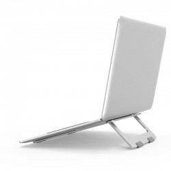 Supporto portatile pieghevole in alluminio per laptop e tablet