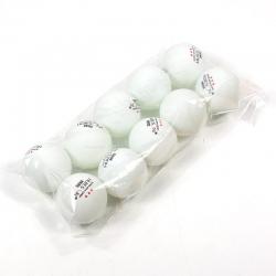 Huieson 10pcs/bag 40mm diameter professional table tennis ball