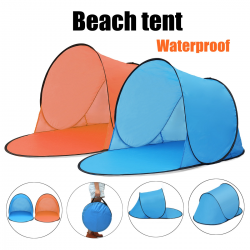 Portable waterproof camping beach tent