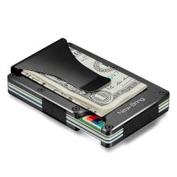 Metal Mini Money & Card Holder