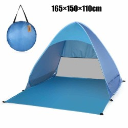 Beach easy setup foldable tent