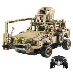 MoFun MZ6003 2.4G 1/12 militair r/c auto truck self-build 768 stukjes