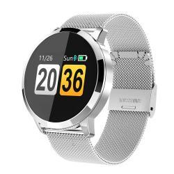 Montre intelligente - OLED - Moniteur de fréquence cardiaque - Montre de fitness