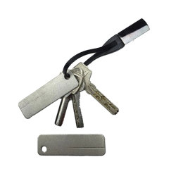 Diamantstein - Messerschärfer mit Schlüsselbund
