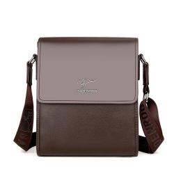 Leather crossbody & shoulder bag set