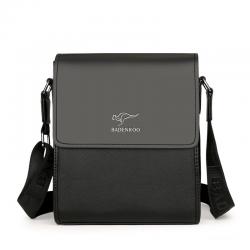 Crossbody & shoulder leather bag - set