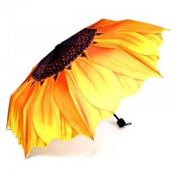 Design słonecznika - parasol przeciwdeszczowy & słoneczny - składany