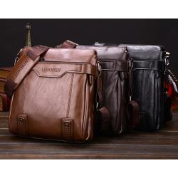 Modische Leder-Umhängetasche mit Brieftasche*