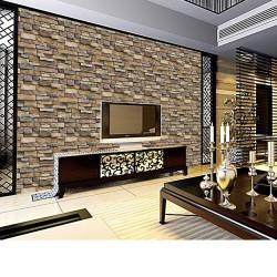 3d Brick Stone Rustic Wallpaper Self Adhesive Sticker Removable
