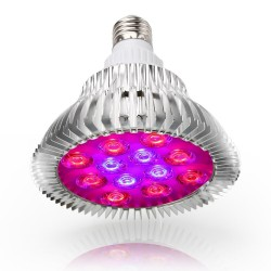 E27 - 36W LED grow light hydroponic - plants - vegetable - tree - indoor