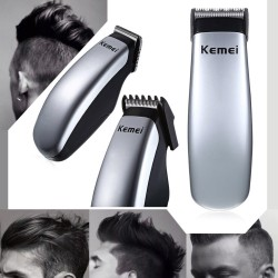 Kemei - electric battery mini hair clipper - beard trimmer