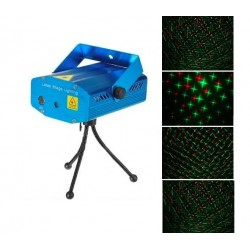 Mini Laser Stage Light Auto/Voice Control Strobe