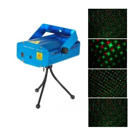 Mini laser podium disco lamp Auto/Voice Control Strobe