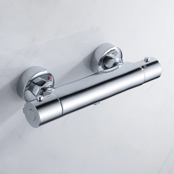 Bathroom shower faucet - thermostatic mixed valve