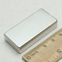N52 Neodymium strong magnet block 50 * 25 * 10mm