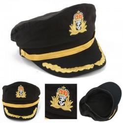 Czapka kapitana marynarza - na party - maskaradę