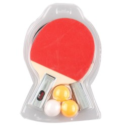 Table Tennis Set 2 Rackets + 3 Ping Pong Balls