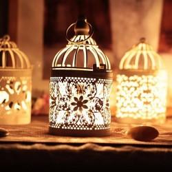 Latarnia marokańska - vintage wiszący świecznik