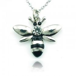 Kryształowa pszczoła - naszyjnik