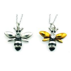 Kristallbiene - Halskette