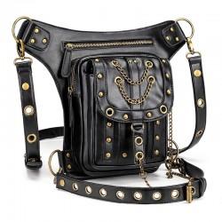 Wielofunkcyjna torba steampunk na talię & nogę & ramię - wodoodporna - unisex