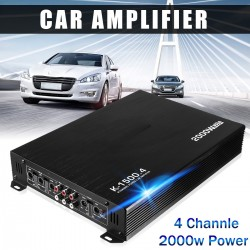 2000W 4 channel car amplifier
