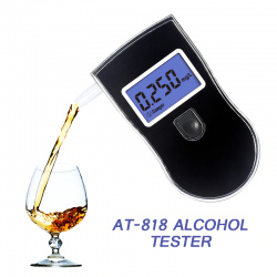 Professional alcohol tester - breath test - LCD display