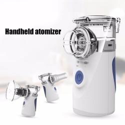 Przenośny nebulizator ultradźwiękowy - mini inhalator ręczny - nawilżacz powietrza - atomizer - zestaw