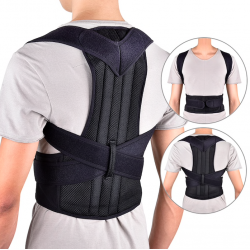 Back posture corrector - spine support belt - adjustable - health care