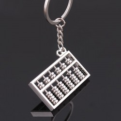 Abacus - 6 or 8 rows - keychain