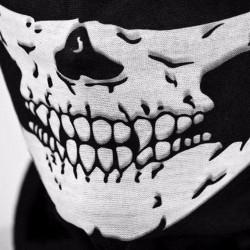 Schädel bedruckte Gesichtsmaske - Sturmhaube