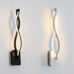 Nowoczesna lampa ścienna - kinkiet aluminiowy
