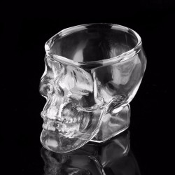 Cabeza de calavera - shot drink glas - 80 ml