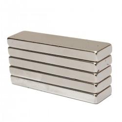 N35 Neodymowy magnes silny blok prostopadłościan 40 * 10 * 4 mm 5szt