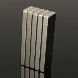 N35 Neodimio fuerte imán bloque 40 * 10 * 4 mm 5 piezas