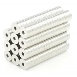 N50 neodymium ringmagneten 5 * 1.5 * 1.5mm 50 stuks