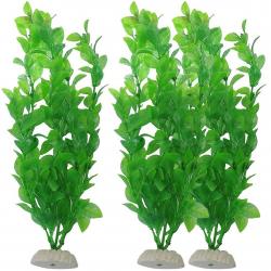 Sztuczna zielona trawa akwariowa - roślina 26cm