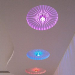 Smart LED 3W - aluminum ceiling light - remote control - RGB - dimmable