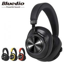 Bluedio T6S Bluetooth headphones - active noise cancelling - wireless headset with voice control