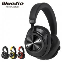 Słuchawki Bluetooth Bluedio T6S - aktywne usuwanie szumów - bezprzewodowy zestaw słuchawkowy z kontrolą głosową